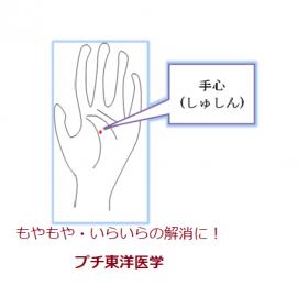 手の平のツボ